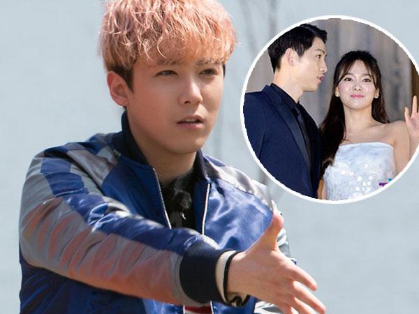 Ngefans Berat, Ini Reaksi Lucu Hongki FT Island Saat Tahu Song Hye Kyo akan Menikah
