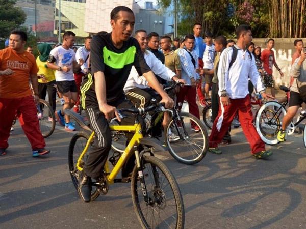 Ini Lho Alasan Presiden Jokowi Pilih Sepeda untuk Dibagikan di Berbagai Kesempatan