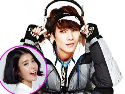 Lee Joon MBLAQ Tunjuk IU Sebagai Rivalnya Dalam Berakting?