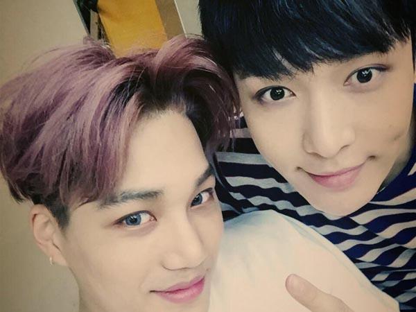 Harap Fans Tak Khawatir, Kai EXO Berikan Kabar Tentang Kondisi Lay