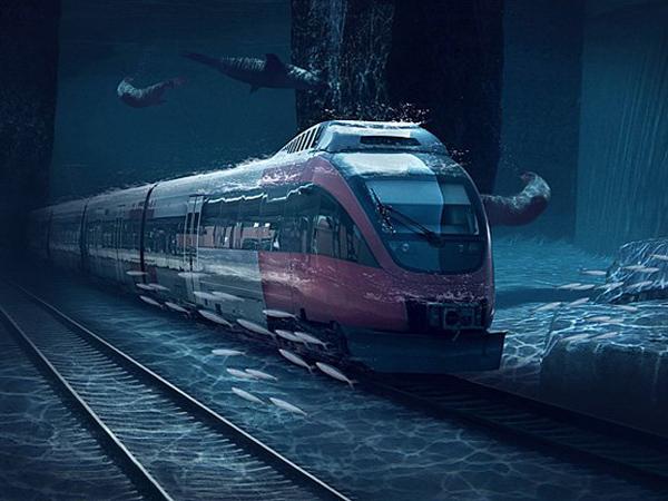 Jadi Yang Pertama, Kereta Cepat Ini Akan Miliki Jalur Bawah Laut!