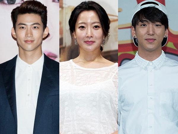 Kim Hee Sun Sering Jadi Teman 'Minum' Baro B1A4 dan Taecyeon 2PM?