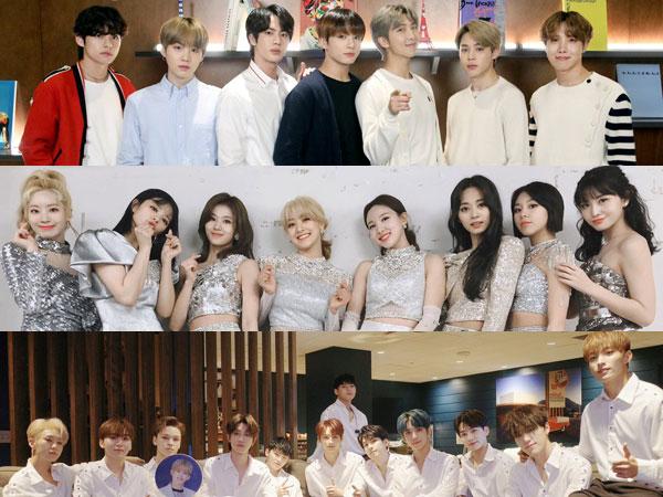 Idola K-Pop Pilih Siapa yang Ingin Diajak Kolaborasi, Ditraktir, Hingga Paling Tampan