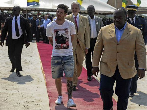 Temui Presiden dengan Pakaian Santai, Lionel Messi Dikritik