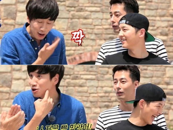 Kocaknya Jo In Sung Saat Tampar Lee Kwang Soo Karena Banyak Bicara di 'Running Man'