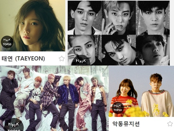 Taeyeon Hingga Akdong Musician Masuk Jajaran 10 Idola K-Pop Terbaik '2016 MelOn Music Awards'!