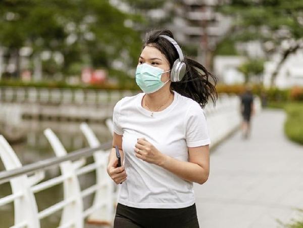 WHO Sarankan Tak Pakai Masker Saat Berolahraga, Ini Alasannya