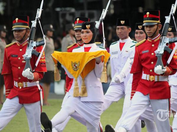 Deg-degannya Penentuan Paskibraka Pembawa Baki yang Dipilih 5 Menit Sebelum Upacara 17 Agustus