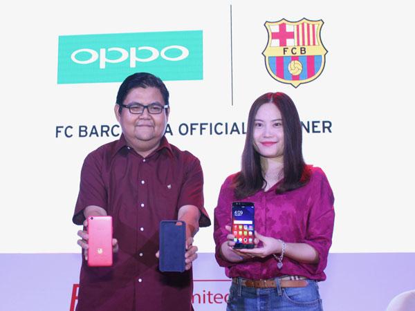 Mulai Dijual 8 Agustus, Ini Harga Oppo F3 FC Barcelona Edisi Terbatas