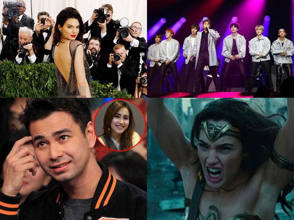 Kendall Jenner Nyaris 'Bugil' Sampai Insiden Ketiak Wonder Woman Jadi Berita Populer di Minggu Ini!