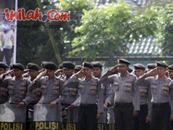 Ribuan Personel Amankan Acara Pernikahan Putra Jokowi