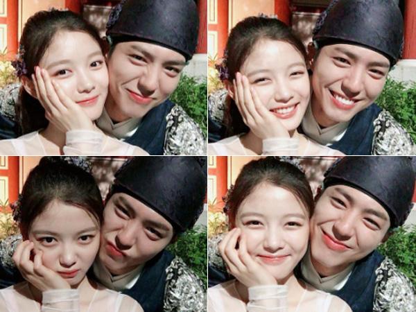 Gemasnya Chemistry Park Bo Gum dan Kim Yoo Jung Meski Tak Sedang Syuting Drama