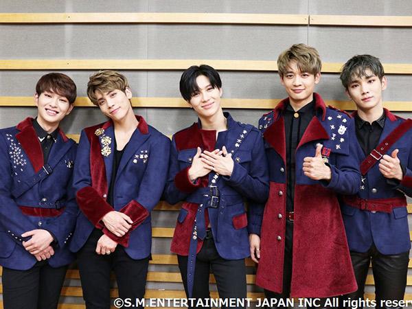 Album Jepang Terbaru SHINee Bareng Mendiang Jonghyun Dominasi Chart Musik!