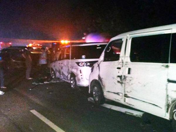 Tabrakan Beruntun Libatkan 10 Kendaraan di Tol Cipularang,  4 Korban Tewas