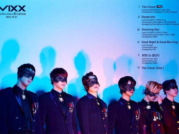 Ditulis Oleh Membernya Sendiri, VIXX Bocorkan Sederet Lagu Baru Mini Album 'Kratos'