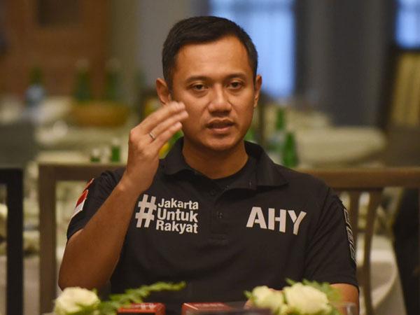 Ditanya Soal Dukungan Ke Ahok atau Anies, Ini Jawaban Agus Yudhoyono