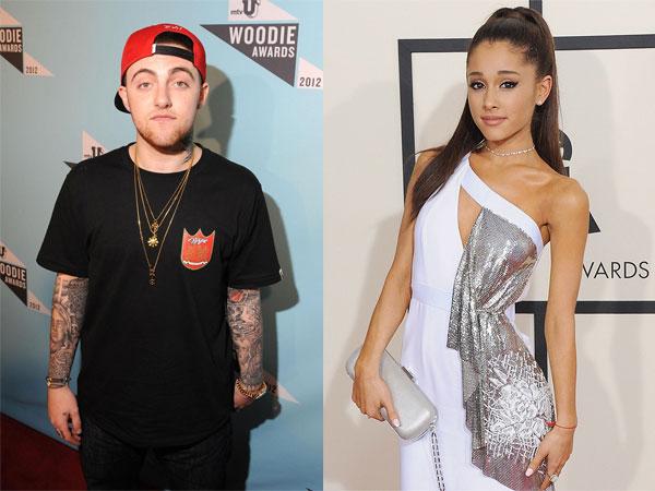 Dirumorkan Berpacaran, Ariana Grande Tertangkap Kamera Bermesraan dengan Mac Miller!