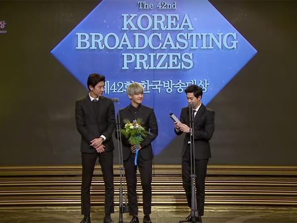 EXO Raih Penghargaan Musician of the Year di 'Korean Broadcasting Awards ke-42'