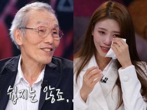 Mijoo Lovelyz Nangis Dengar Cerita Kehidupan Kakek Oh Young Soo Squid Game
