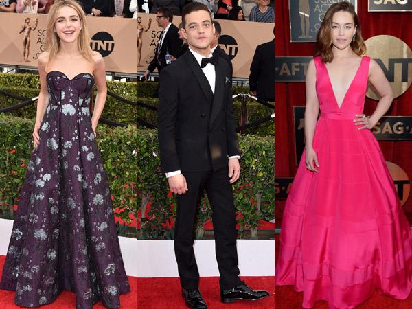 Inilah Selebriti dengan Penampilan Red Carpet Terbaik di SAG Awards 2016