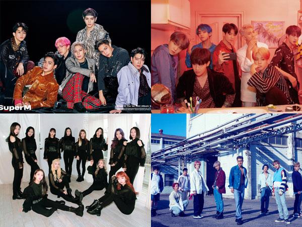 SuperM, Super Junior, Hingga ATEEZ Tempati Posisi di Chart Billboard World Albums Minggu Ini