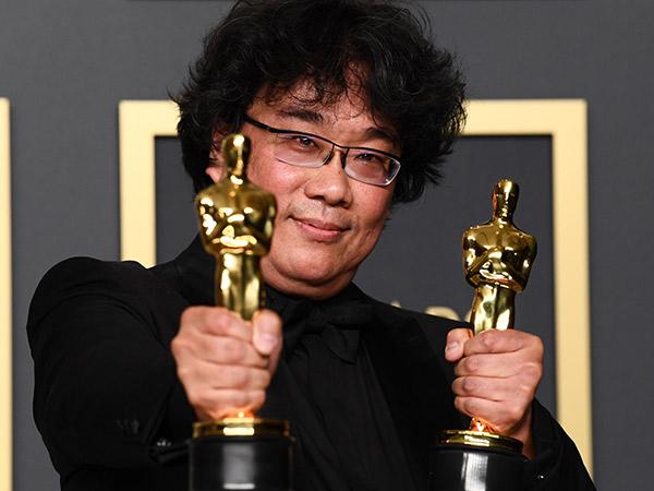 Bong Joon Ho Berterima Kasih Pada Sosok Ini Saat Menangkan Sutradara Terbaik #Oscars