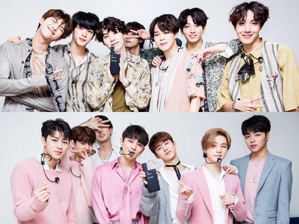 BTS dan iKON Pimpin Gaon Chart Performance Tengah Tahun 2018 Ini