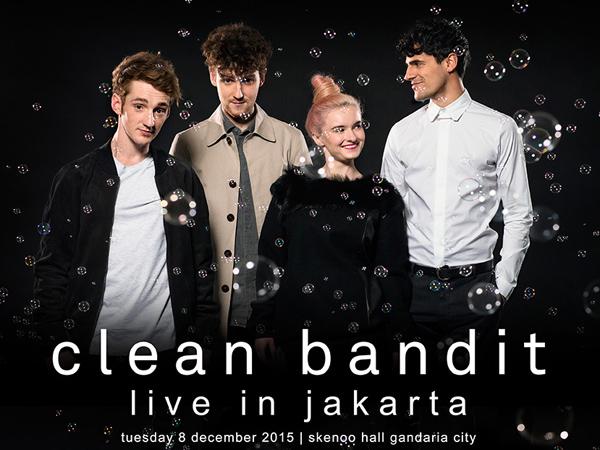Band Segudang Prestasi, Clean Bandit Siap Hentak Jakarta Malam Ini