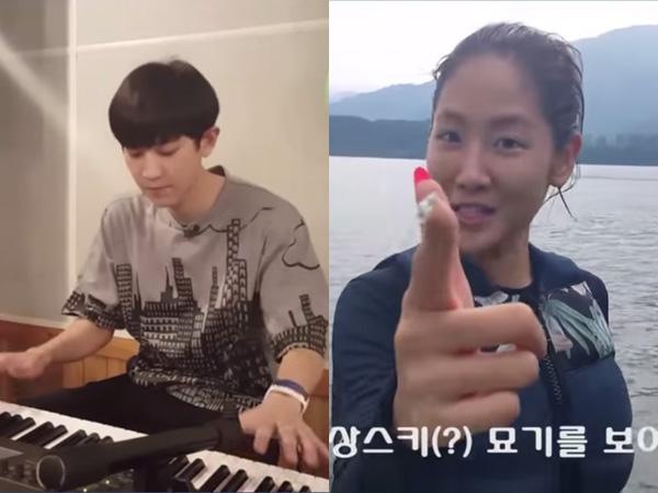 Main Bilyar dan Ski Air, Chanyeol EXO dan Soyu Sistar 'Unjuk Gigi' di '18 Seconds'!