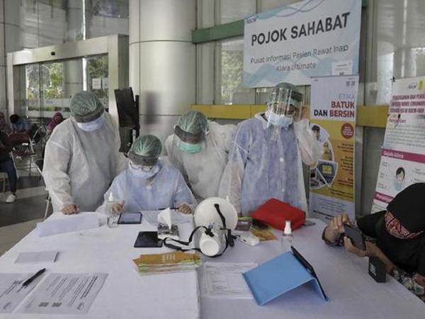 Pasien Positif Corona di Indonesia per 30 Juni Mencapai 56.385 Kasus