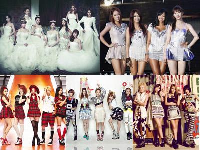 Inilah 5 Girlband K-Pop Terpopuler Secara Global di Tahun 2013!