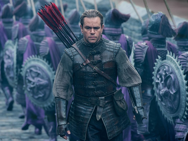 Pancing Kontroversi, 'The Great Wall' Matt Damon Rilis Trailer Berdurasi 9 Menit!