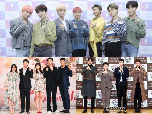 BTS, 'Fight My Way', Hingga 'Master in the House' Menang di '45th Korean Broadcasting Awards'