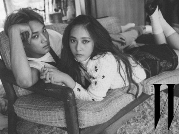 Kai EXO Juga Sempatkan Bertemu Krystal f(x) Usai Pulang dari Konser di Jakarta!