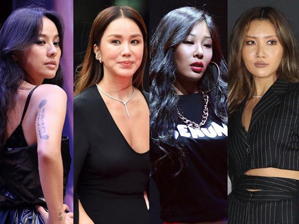 Lee Hyori, Uhm Jung Hwa, Jessi, dan Hwasa Siap Bahas Proyek Girl Group Baru