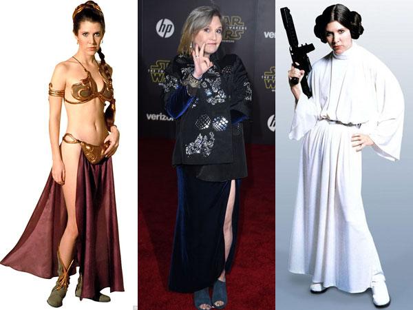 Mengenang 'Putri Leia' Lewat Kostum Ikonik Semasa Hidupnya di 'Star Wars'