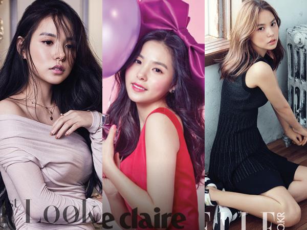 Intip Cantiknya Kekasih Taeyang Big Bang di Berbagai Photoshoot Majalah Fashion Ini