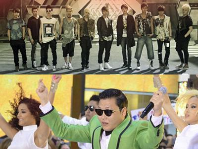 Super Junior dan Psy Masuk Nominasi MTV European Music Awards