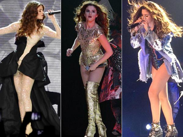 Intip Mewahnya Kostum Panggung Selena Gomez di Konser Tur Dunianya