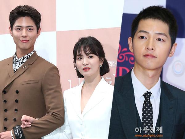 Ternyata Begini Reaksi Song Joong Ki Saat Song Hye Kyo Syuting Bareng Park Bo Gum