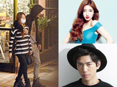 Ketahuan Jalan Bareng, Suzy miss A dan Aktor Sung Joon Pacaran?