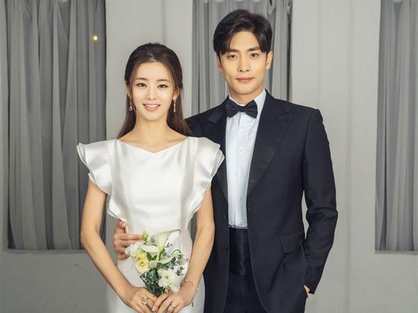 Foto-foto Pernikahan Sung Hoon dan Lee Ga Ryung untuk Drama Baru