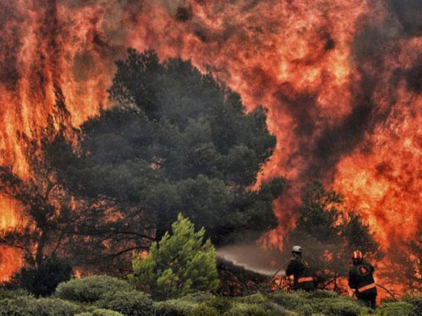 Yunani Tetapkan Berkabung 3 Hari Setelah Kebakaran Hutan Dahsyat Tewaskan 70 Orang