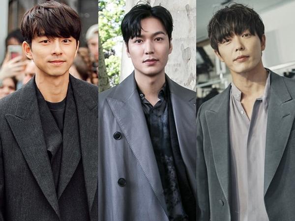 Beda Gaya Tiga Aktor Tampan Korea Tebar Pesona di Acara Paris Men's Fashion Week