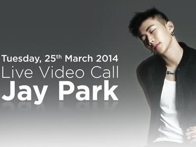 Jay Park Akan Ngobrol Langsung dengan Fans Indonesia Lewat Video Call!
