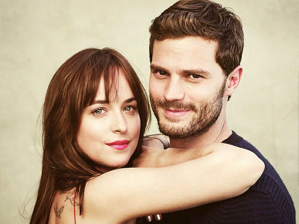 Pasangan Jamie Dornan & Dakota Johnson '50 Shades of Grey' Debut di Golden Globe 2015 !