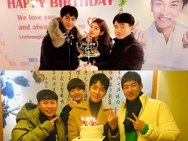 Lee Seung Gi Rayakan Ulang Tahun Bareng Suzy hingga Member 'Master in the House'