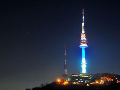 Namsan Seoul Tower, Icon Wisata di Korea Selatan