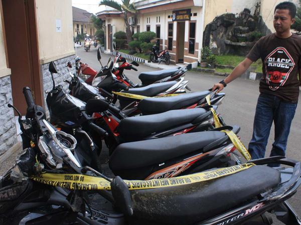 Tiga Kampung di Wilayah Jawa Barat Ini Jadi Penampung Motor Curian