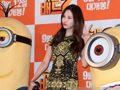 Seohyun SNSD Ungkapkan Komentarnya Setelah Dubbing 'Despicable Me 2'